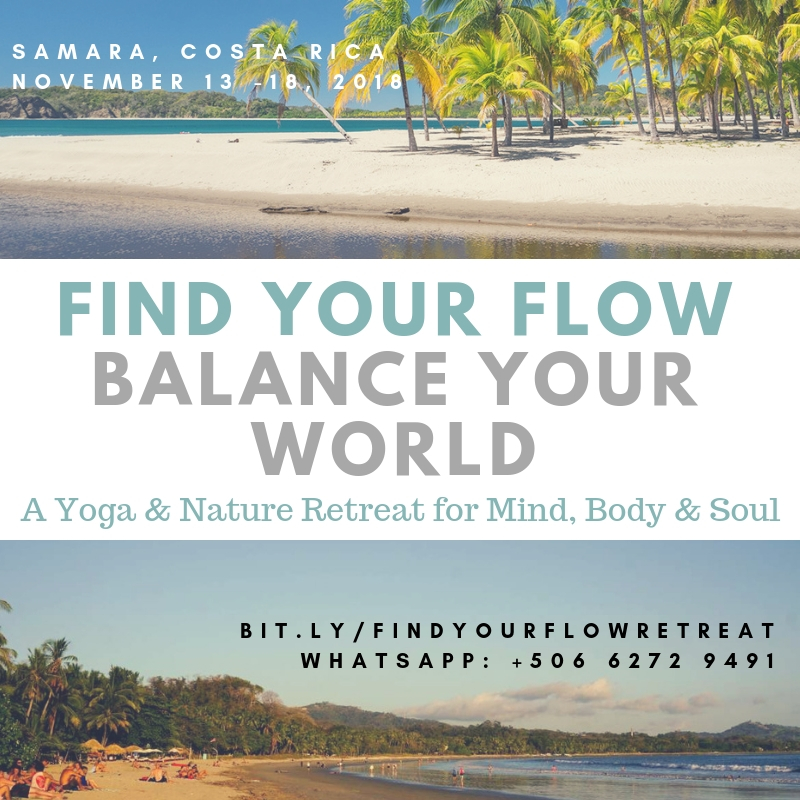 transformational retreats, find your flow retreat, toby israel, costa rica, travel, yoga, nature