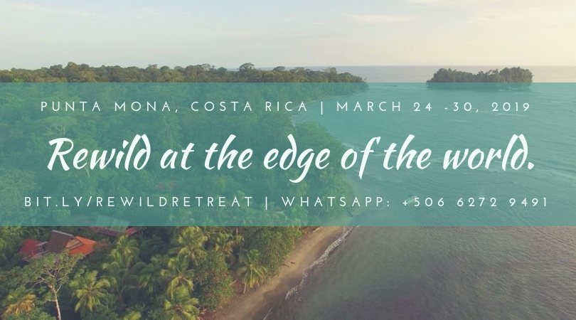 rewild retreat, punta mona, costa rica, toby israel, transformational retreats