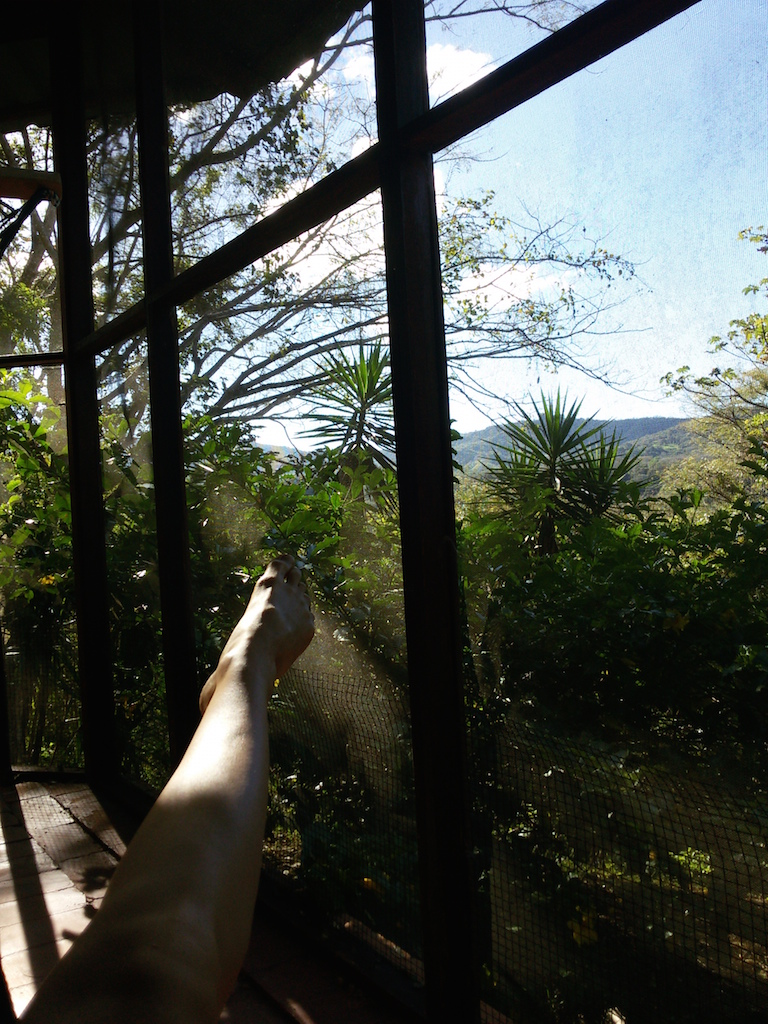 gratitude, hammock, costa rica, microadventure