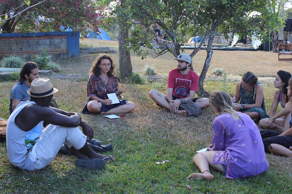 herbal medicine, workshop, pura bliss microfestival, costa rica, transformational festival