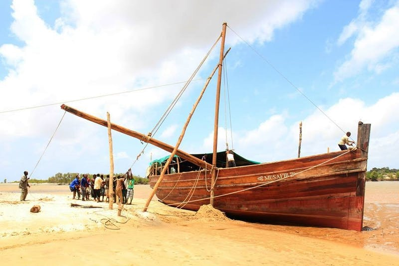 kenya, sailing, dhow, kilifi, musafir, numundo, transformational travel